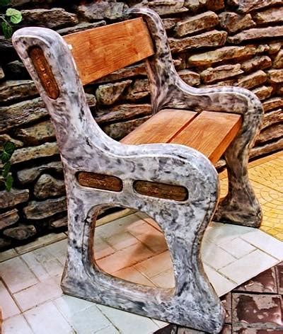 concrete bench molds forms bench plastic molds for concrete quot benches quot for garden