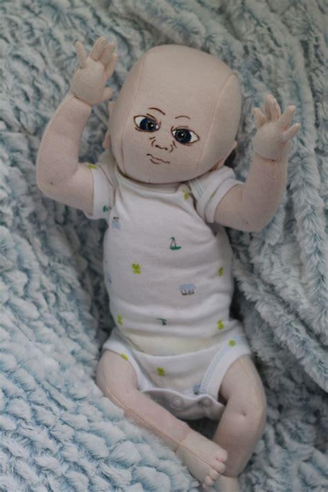 anatomically correct doll pattern realistic preemie baby boy cloth doll anatomically correct