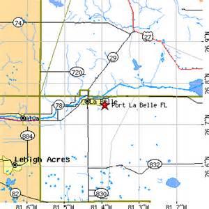 Labelle Florida Map by Port La Belle Florida Fl Population Data Races