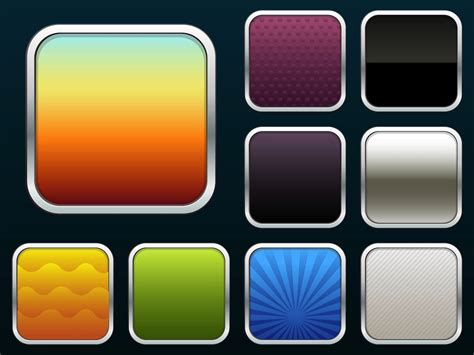 I Os App Icons Vector Art Graphics Freevector Com Ios App Terms And Conditions Template