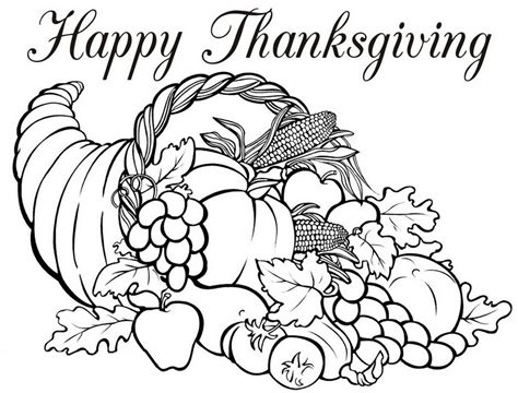 free online thanksgiving coloring pages for adults coloriage adulte thanksgiving corne d abondance 5