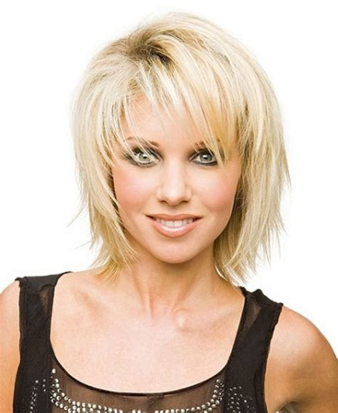 images front and back choppy med lengh hairstyles short choppy layers medium length various medium length