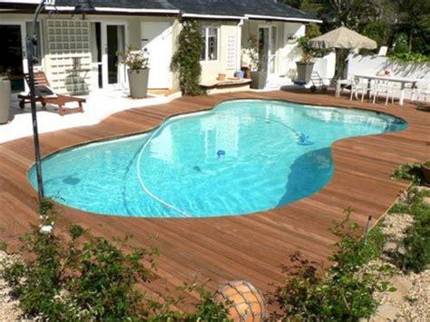 wood pool deck wood deck around inground pool ideas roomy