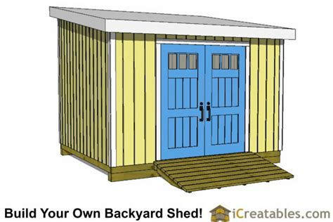 Free 10 X 12 Wood Shed Plans