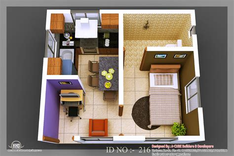 house planner 3d 3d isometric views of small house plans kerala home