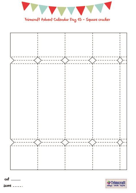cracker template printable 17 best images about cracker box on gardens