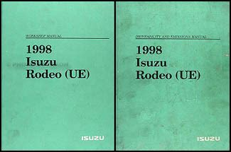 service manual 1998 isuzu rodeo how to disable security system service manual security search