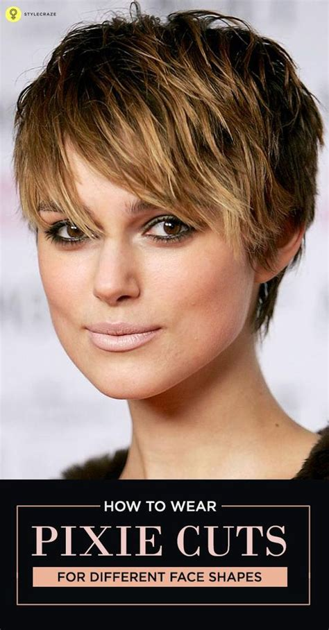 pixie longer in front how to sport pixie hairstyle for different face shapes