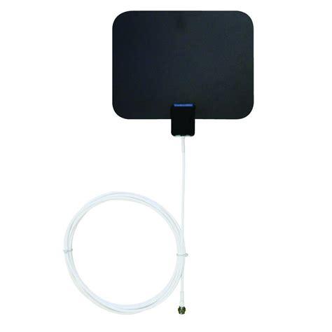 winegard flatwave mini hdtv indoor antenna fl4000s the home depot