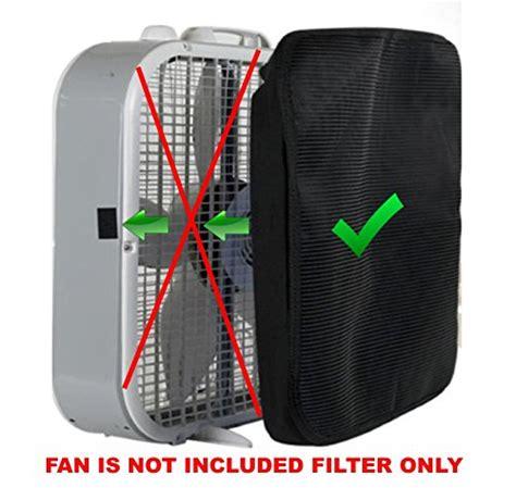window fan filter allergies pollentec hypoallergenic box fan filter filters 98 of