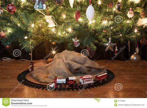 tren de la navidad foto de archivo imagen de presente