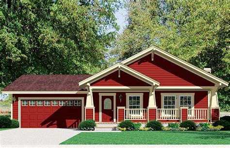 Marvelous Plans For Ranch Style Houses #2: Pictures-of-Craftsman-Style-Houses-Ranch.jpg