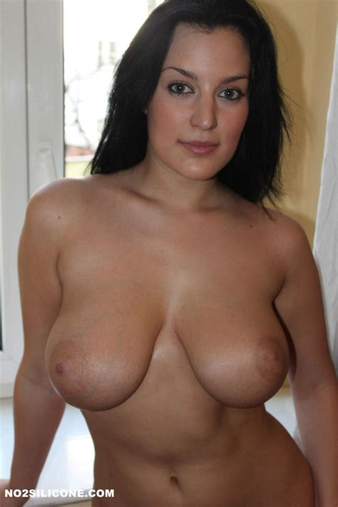 Busty Brunette Wit Natural Tits