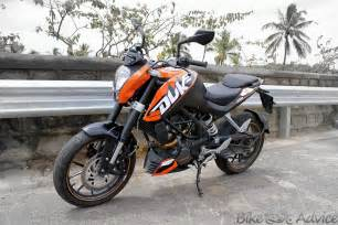 Ktm Duke Bikes India Ktm Duke 200 Road Test And Review By Sharat Aryan