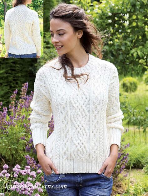 knitted hoodie pattern womens free knitting patterns for s jumpers crochet and knit