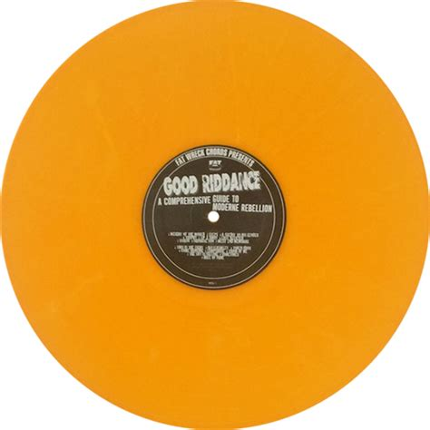 Riddance A Comprehensive Guide To Moderne Rebellion 1996 Cd riddance a comprehensive guide to moderne rebellion colored vinyl