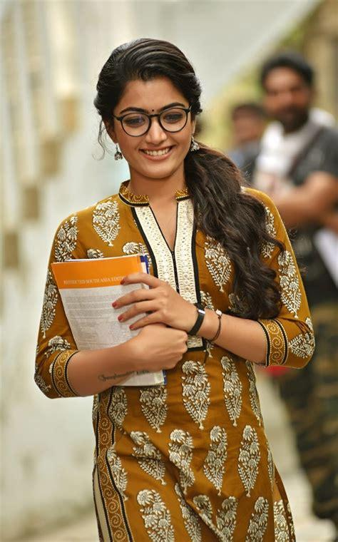telugu hero heroine photos download picture 1287931 heroine rashmika mandanna in chalo movie