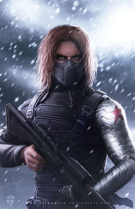 winter soldier by erlanarya on deviantart