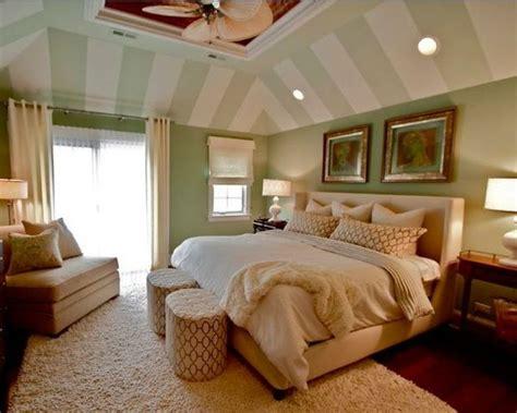 gestaltungsideen schlafzimmer mit dachschr 228 ge streifen - Gestaltungsideen Schlafzimmer