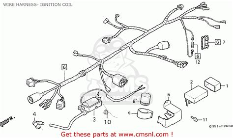 honda c100k2 astrea indonesia wire harness ignition coil