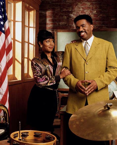 black hair extentions steve harvey radio show black sitcom couples steve and regina the steve harvey