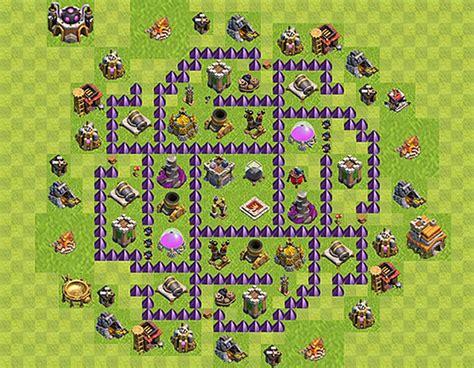 layout zueiro cv 7 dicas clash of clans como ter um layout de vila ce 227 o
