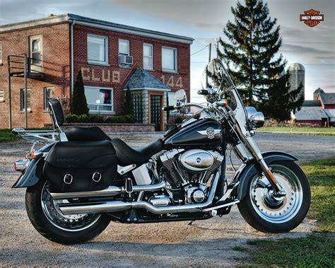2012 Harley Davidson FLSTF Softail Fat Boy Review