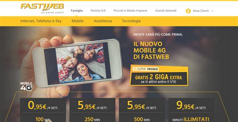 fastweb offerte telefonia mobile fastweb e le nuove offerte di telefonia mobile