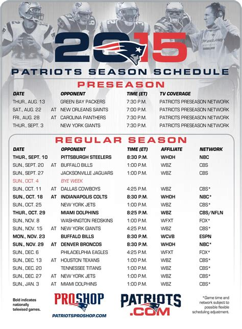 printable nfl patriots schedule onto2015 latest news breaking headlines and top stories