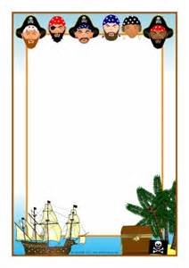 Pirate Paper Template by Primary Teaching Resources Printables Sparklebox
