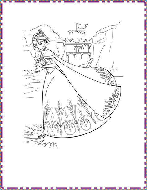 frozen coloring pages and crafts frozen coloring pages funny crafts