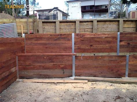 Timber Sleepers For Sale by Hardwood Sleeper Garden Edging For Sale In Moorooka Qld