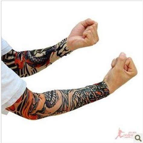 pattern tattoo oversleeve halloween costume party cos tattoos oversleeve raglan
