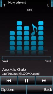 Nokia 5233 Music Player Themes | download music play nokia s60v5 theme nokia theme mobile