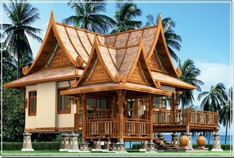 thailand home design news beautiful traditional thai housing with a bit of modern