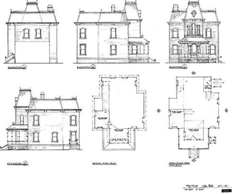 Psycho House Floor Plans | bates motel house floor plan buscar con google diy