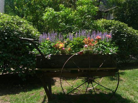 Linda S Beautiful Flower Cart Gardening Pinterest Garden Flower Cart