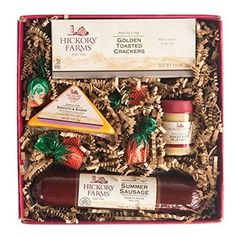 costco hickory farms gift pack hickory farms original hickory selection with hardwood smoked sausage gift set gourmet gifts
