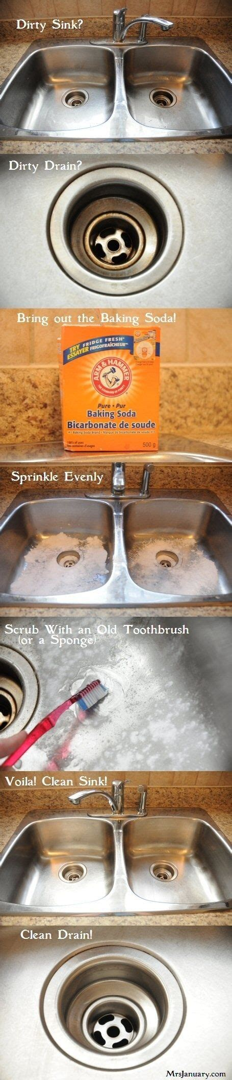 Stains Stove And Sodas On Pinterest How To Clean Kitchen Sink With Baking Soda