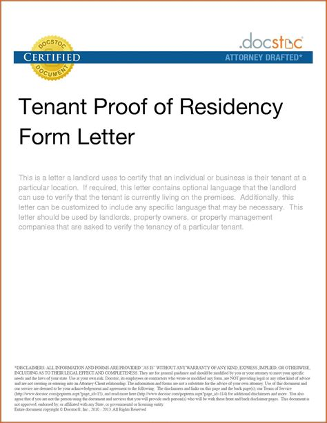 certified letter from tenant proof of rent letter from landlord sle zoro blaszczak co