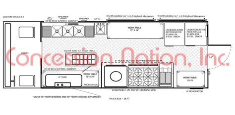 food truck layout template food truck layout best layout room