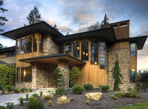 modern style house plan 4 beds 4 5 baths 4750 sq ft plan