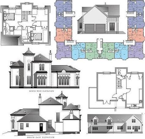 low cost residential architectural plans home plans