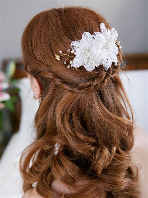white wedding hairstyles wedding hairstyles for long hair circletrest