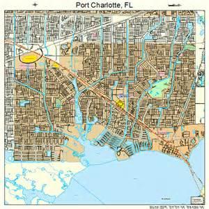 port florida map 1258350