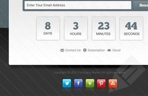 Launching Soon Template Free by 12 Popular Blank Email Templates Html Psd Files