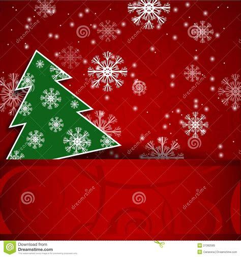 postal horizontal del 225 rbol de navidad foto de archivo