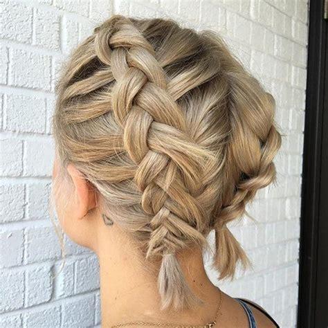 braids pulled my hair out best 20 braiding short hair ideas on pinterest