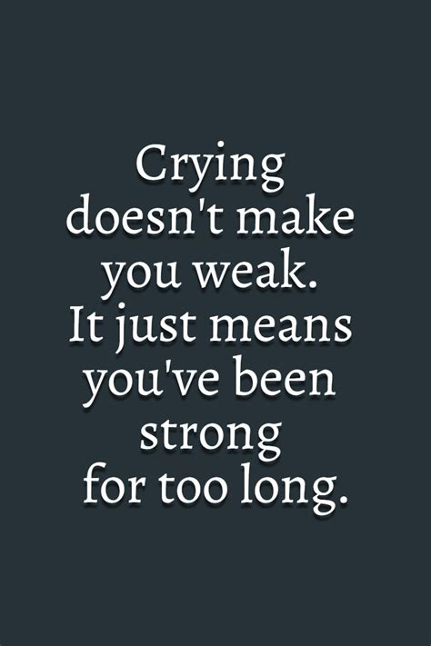 grand design meaning of life crying tears sad weak strong long meaning life
