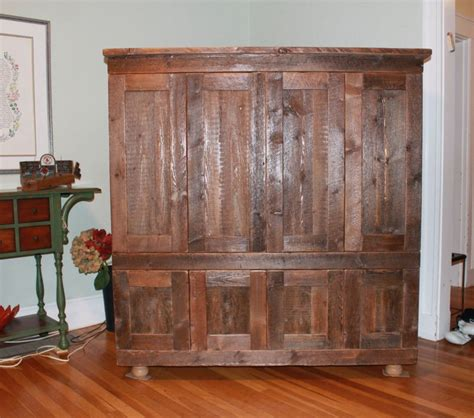 rustic tv armoire rustic tv armoire by cd lumberjocks com